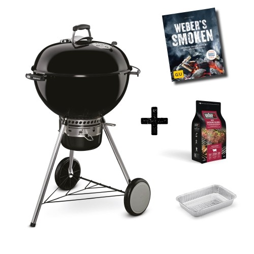 Weber Grill Master-Touch GBS Pro Charcoal 57cm, Inkl. Räucher-Starterset