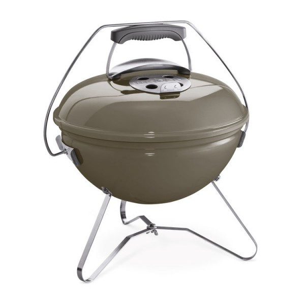 Weber Grill Smokey Joe Premium Charcoal 37 cm, Smoke Grey