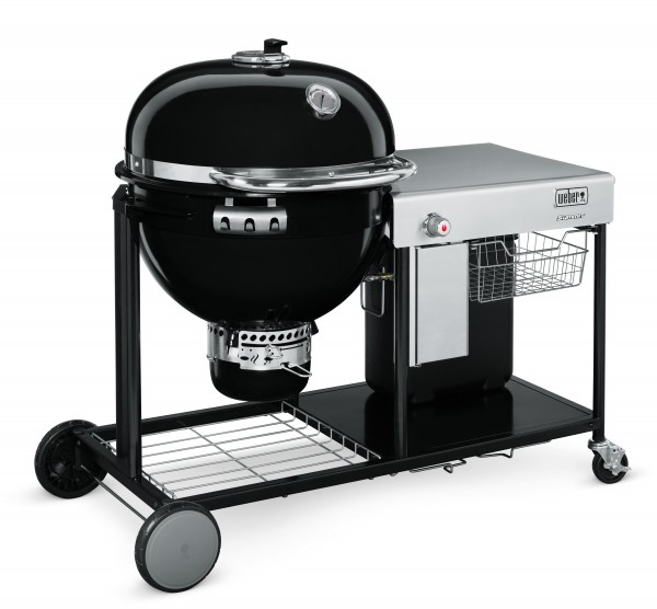 Weber summit charcoal grill center 60 cm black geschenke for Weber kugelgrill zubehor