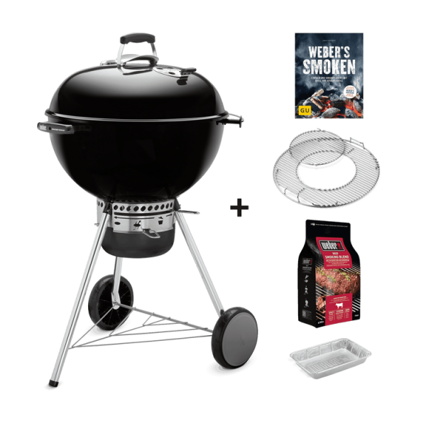 Weber Master-Touch GBS 57cm , Black Special Edition Pro inkl. Räucher-Starterset