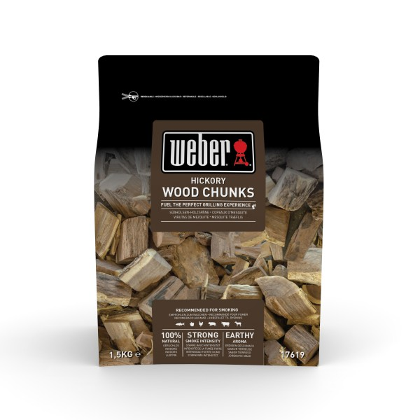 Weber Wood Chunks Hickoryholz 1,5 kg