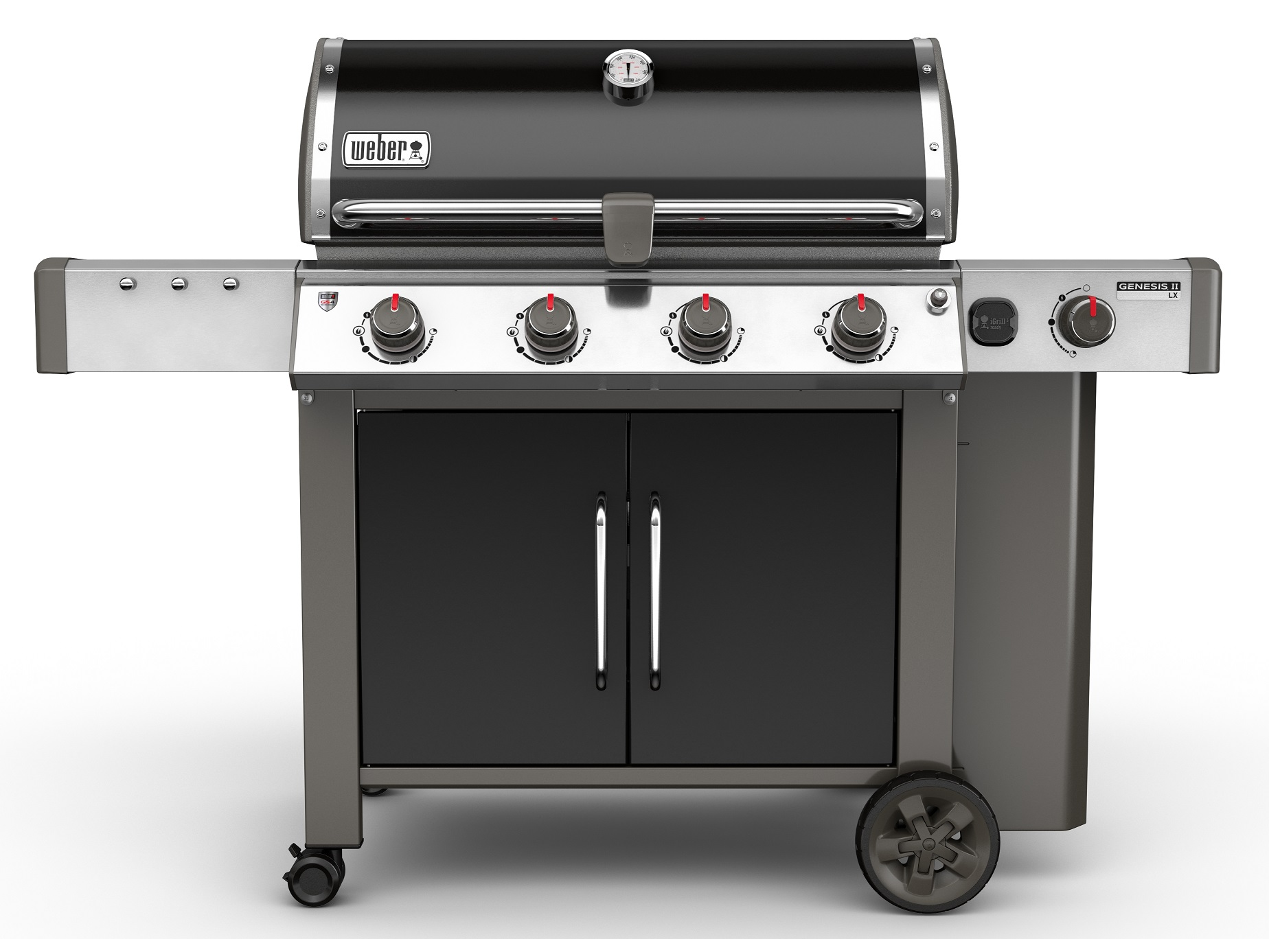 weber genesis ii lx e 440 gbs gas grill black exklusiv weber weber grills. Black Bedroom Furniture Sets. Home Design Ideas
