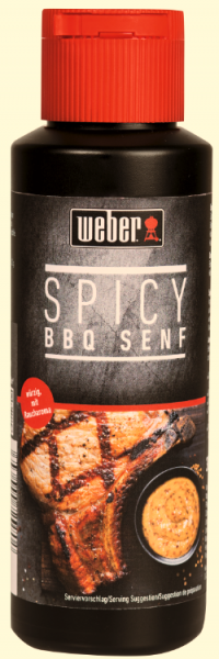 Weber Senf Spicy BBQ 300ml