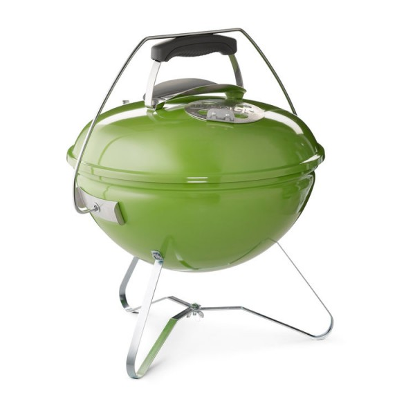 weber grill smokey joe premium charcoal 37 cm spring green holzkohlegrill grills weber. Black Bedroom Furniture Sets. Home Design Ideas