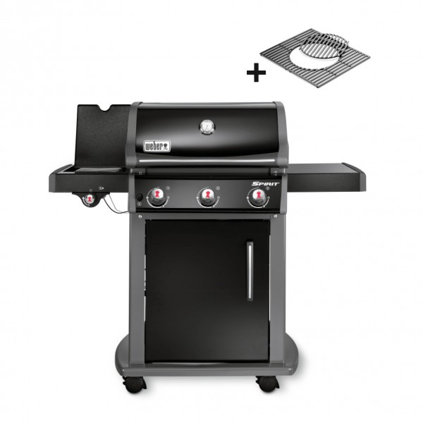 Weber spirit e 320 original gbs gas grill black spirit for Weber grill zubehor