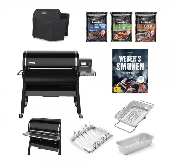 Weber SmokeFire EX6 GBS ALL-IN-ONE-PAKET